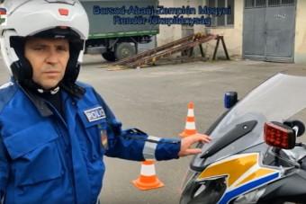 A rendőrség üzent a motorosoknak