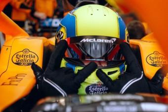 F1: Norris minden hétvégére új sisakkal készül