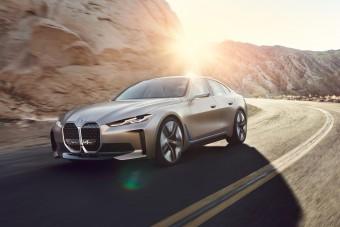 Felvillanyozó elektromos autó lesz a BMW i4-es