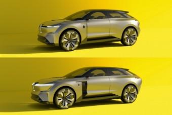 Széthúzható villanyautót épített a Renault
