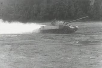 Látványosak, de veszélyesek is voltak a sugárhajtőművel felszerelt tankok