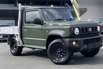 A Jimny a legaranyosabb pick-up