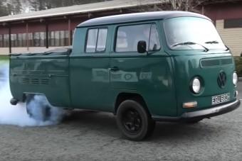 450 lóerős lett az elektromossá alakított öreg Transporter