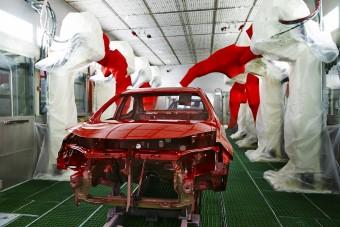 Árammal festik az autókat
