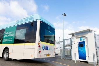 Zöld hidrogént használnak Dánia új buszai
