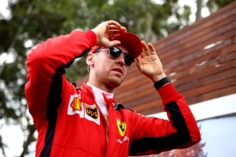 F1: Vettel hajnalban szólt, hogy lelép