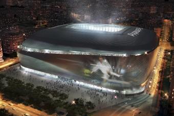 Gigászi lesz a Real Madrid új stadionja - videó