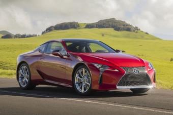 Megújul a Lexus csúcskupéja