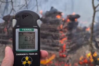 Turistákat vonzó romokat pusztított el a Csernobil mellett tomboló tűzvész