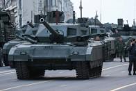Új életet adtak az oroszok régi tankjaiknak 1