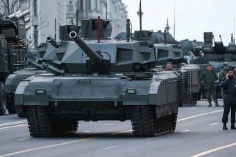 Már a csatatéren tesztelik az új orosz tankot