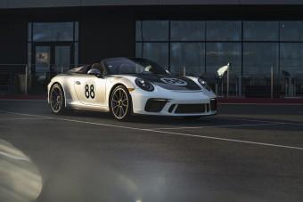 A koronavírus ellen harcol az utolsó Porsche 911 Speedster