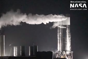 Tesztelés közben omlott össze a SpaceX rakétája