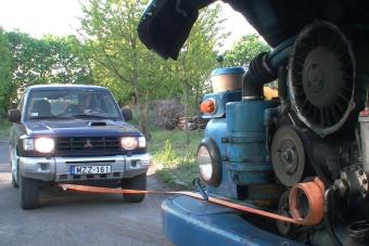 Egy főtengelyre tekert spaniferrel is indítható a Tatra V8-as motorja