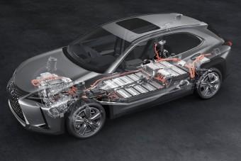 Már kapható az elektromos Lexus