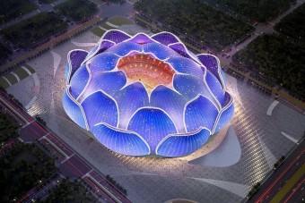 Elkezdték építeni a világ legnagyobb stadionját