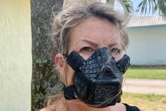 Már aligátorbőrből is készítenek maszkokat
