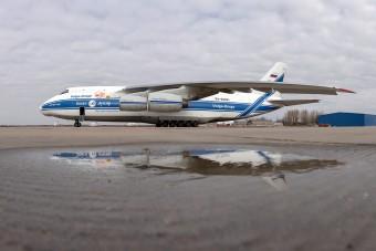 Így fertőtlenítik a világ egyik legnagyobb civil repülőgépét