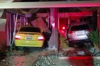 Ismét autó csapódott egy házba itthon 3