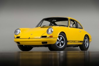 Kalandos úton ment végig a 911 R utolsó prototípusa