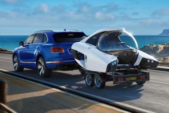 Végre van autóval vontatható luxus tengeralattjáró