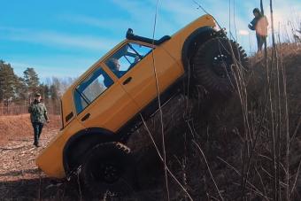 Az oroszok megcsinálták a tökéletes terepmenő Zsigulit V8-as motorral