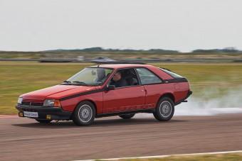 Renault Fuego Turbo – Lesajnált gebéből turbós táltos