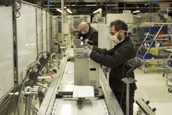 A SEAT rekordgyorsan állt át lélegeztetők gyártására