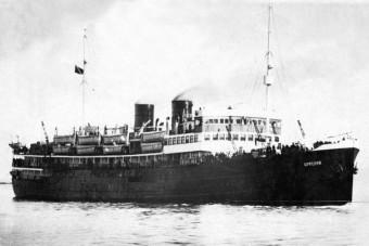 Megtalálták az elsüllyesztett kórházhajó roncsait