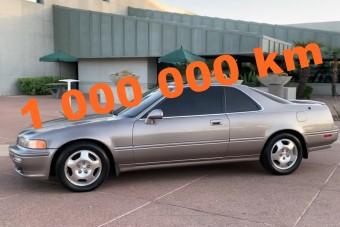 1 millió km-t futott hibátlanul ez a Honda Legend