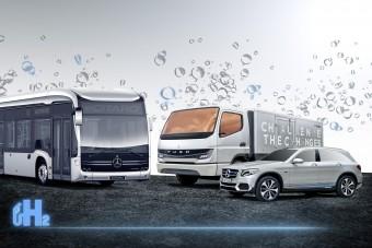 Közösen fejleszt hidrogéncellás járműveket a Volvo és a Daimler