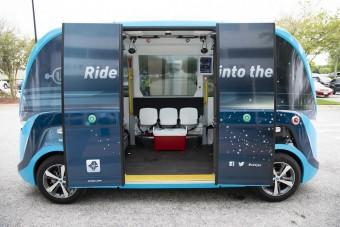 Önvezető buszokkal szállítják a koronavírus teszteket