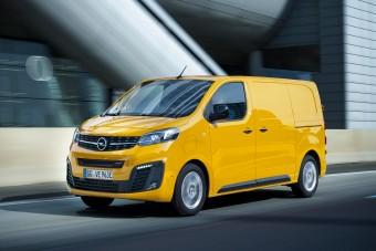 Nyártól elérhető az Opel villanyfurgonja