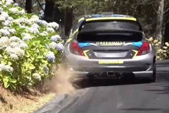 Meglepő motort pakoltak ebbe a Peugeot 207-esbe