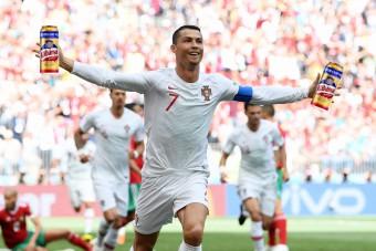 Cristiano Ronaldo 1,5 millió doboz Kőbányaival mulathat