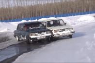 Nézz hóban ralizó Pobedát, ha hiányzik az igazi tél! 1