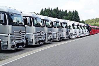 Zsákutcába kerültek a magyar közúti fuvarozók