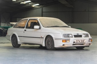 20 évig pihent ez a Ford Sierra RS Cosworth