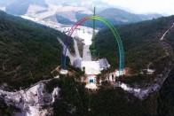 Lenyűgöző a kínai Guinness-rekorder lift 1