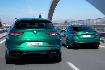 Videón zöldellnek az Alfa Romeo megújult zászlóshajói