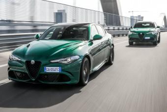 Megújultak a legerősebb Alfa Romeók