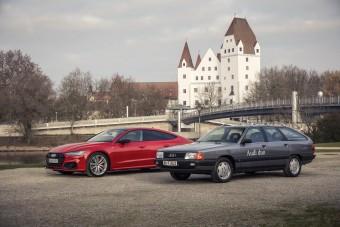 Az Audi első hibridjei