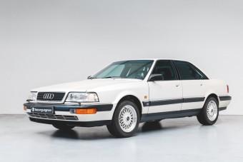 A V8 volt az Audi csúcsa 1990-ben