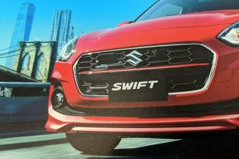 Megújul a Suzuki Swift, kiszivárogtak a képek