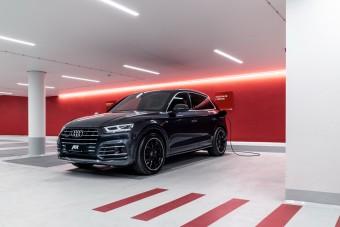 Nem a spórolásra megy az ABT hibrid Q5-ös Audija