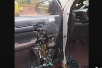 Robbanhat az autóban hagyott alkoholos kézfertőtlenítő