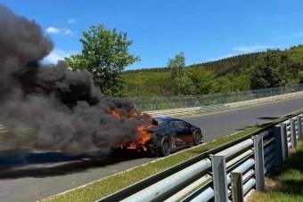 Leégett a Lamborghini prototípusa a Nürburgringen