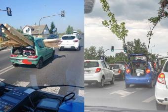 Nem számít a méret, ezek a hibbant autósok bármit elszállítanak