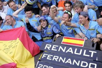 F1: Alonsót akarja csapattársnak a Renault-pilóta