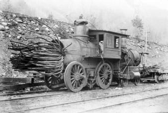 A vasút hőskorában nem volt ritka ez a látványos jelenség